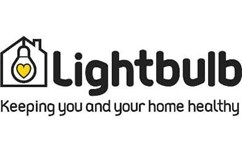 Lightbulb logo for Leicestershire local authority partners