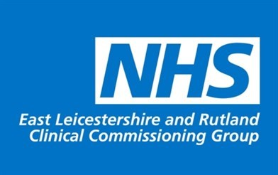 Logo for East Leicestershire and Rutland Clinical Commissioning Group