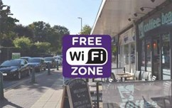Blaby Town Centre gets free WiFi