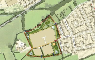 Refused development in Littlethorpe