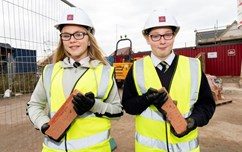 Students from a local school getting hands on experience as part of the Work and Skills Plan