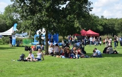 Love Parks event in Fosse Meadows, which has won a national award