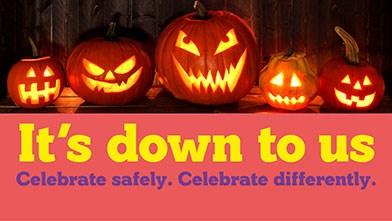 It's Down To Us Social Media (Halloween) Web