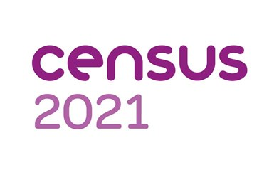The logo of the 2021 Census